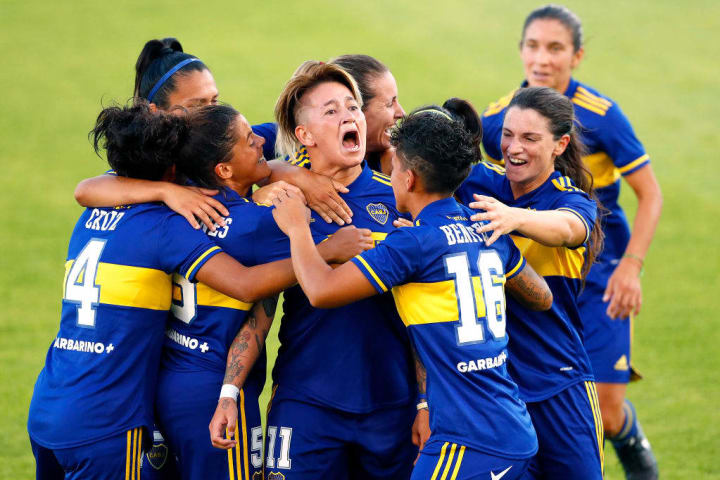 Boca thrashed River Player in a Superclasico final