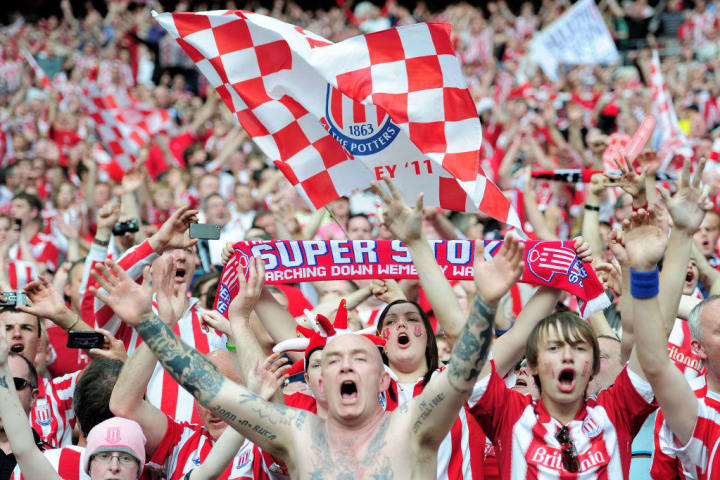 Bolton Wanderers v  Stoke City - FA Cup Semi Final