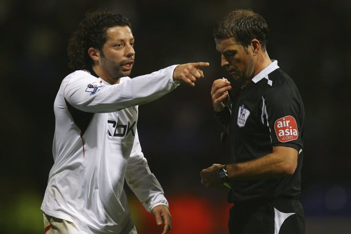 Ivan Campo, Mark Clattenburg