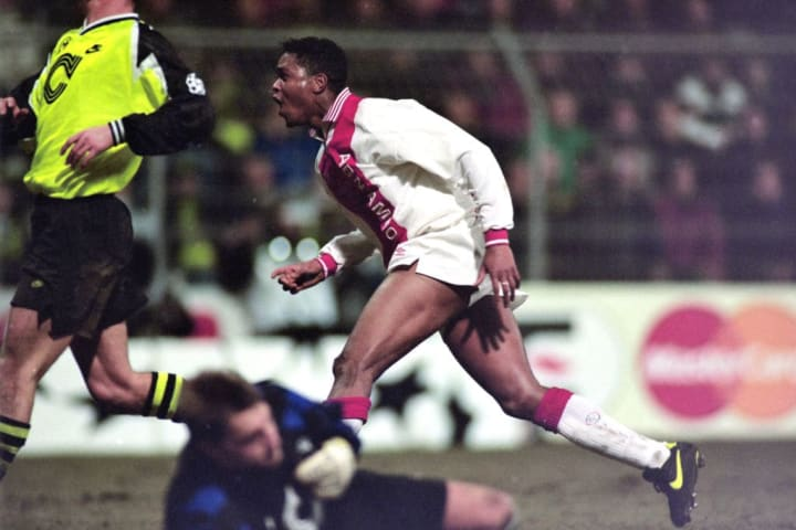 Kluivert burst onto the scene with Ajax