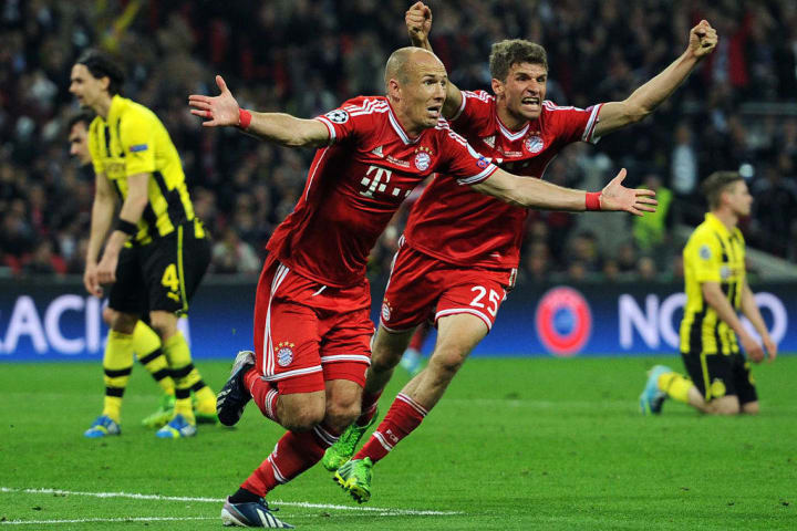 Robben's dramatic late goal sunk Dortmund in 2013