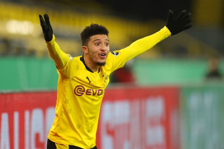 After a summer of speculation, Sancho stayed put