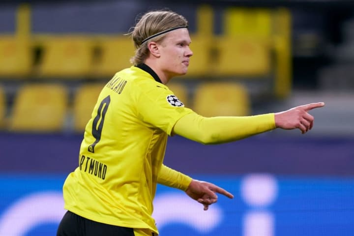 Haaland has become the most talked about striker in Europe