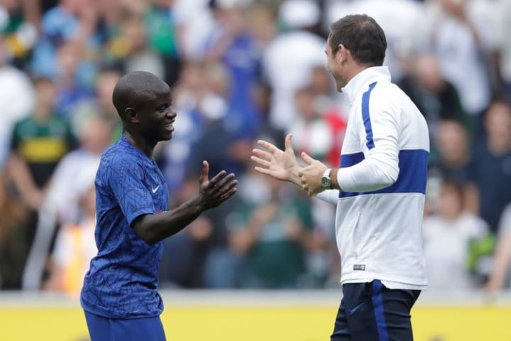 Lampard sung the praises of Kante