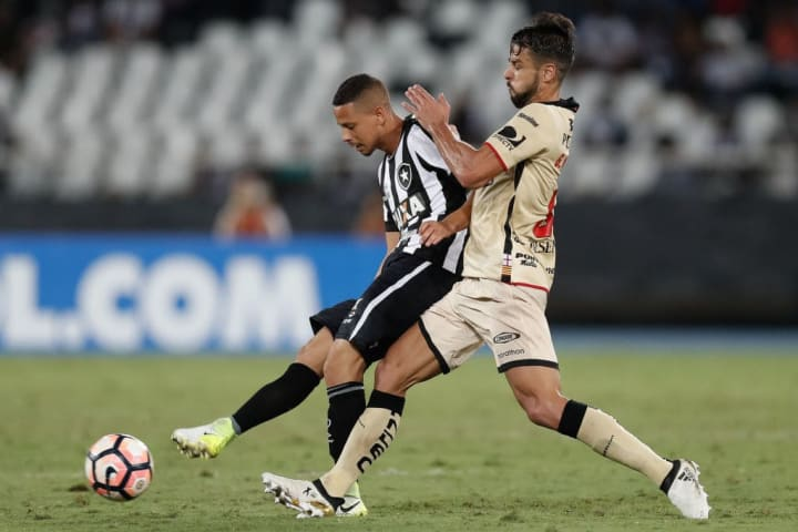 Gabriel Marques Fernandes Botafogo Barcelona Grupo Morte Libertadores 2017