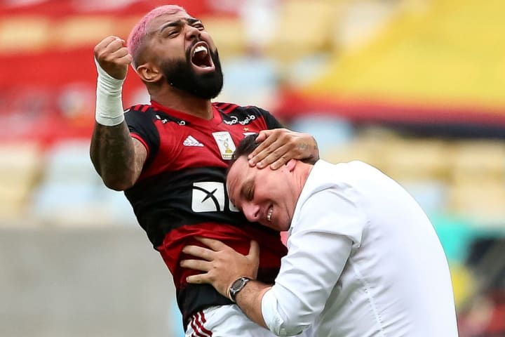 Gabriel Barbosa Rogerio Ceni Gabigol Flamengo Palmeiras Supercopa do Brasil XI ideal