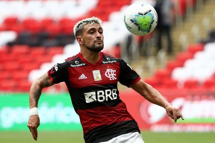 De Arrascaeta Flamengo Palmeiras Supercopa do Brasil XI ideal