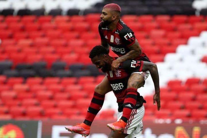 Gabigol Gerson Flamengo Sorteio Libertadores Grupos Título