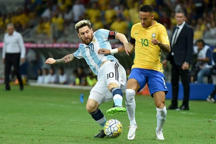 Neymar Jr, Lionel Messi
