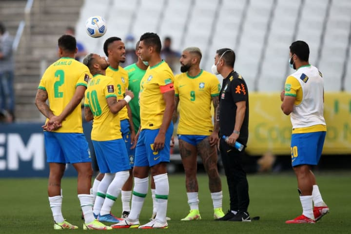 Neymar Jr., Danilo da Silva, Éder Militão, Gabriel
