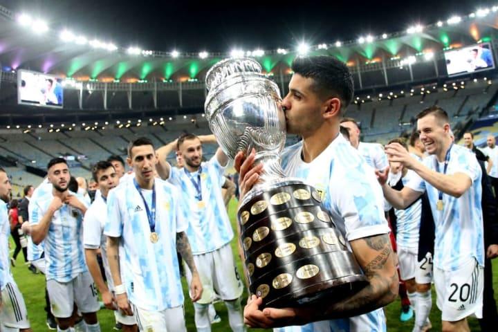 Argentina Mercado Copa AMérica Cristian Romero
