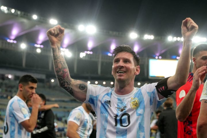 Lionel Messi won't be joining City