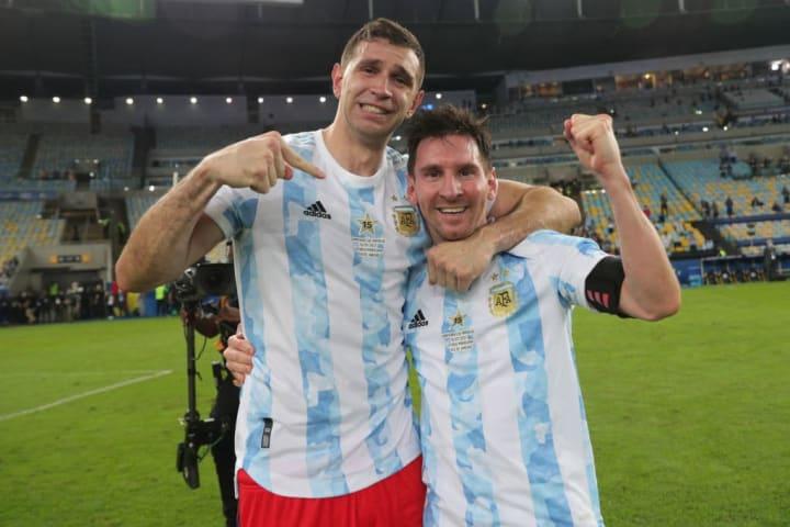 Lionel Messi, Emiliano Martinez