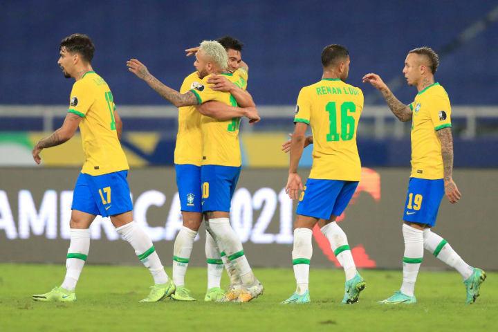 Casemiro, Neymar Jr.