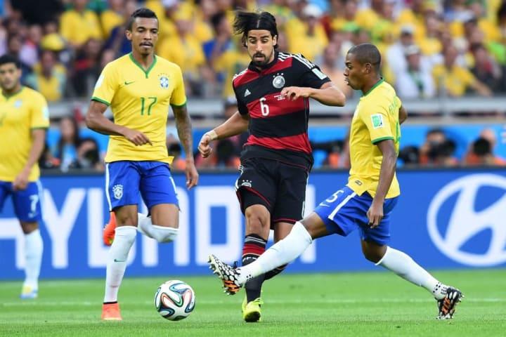 Sami Khedira Fernandinho Aposentadoria 2021 Khedira 7 a 1 Alemanha Brasil