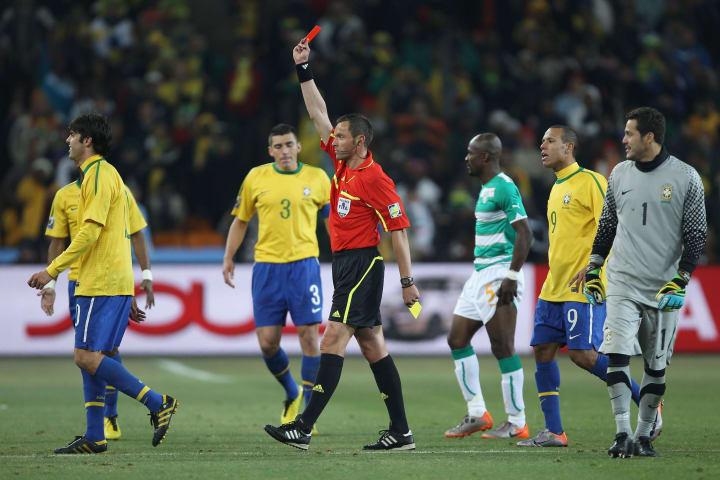 Kaka Stephane Lannoy Olimpíadas Brasil Costa do Marfim Futebol masculino