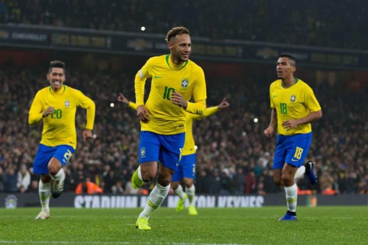 Neymar will overtake Pele as Brazil's all-time top scorer