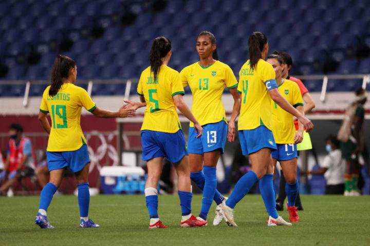 Brazil were victorious over Zambia