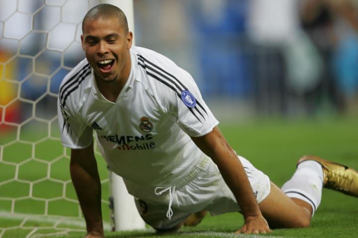 Brazilian Real Madrid player Ronaldo jub