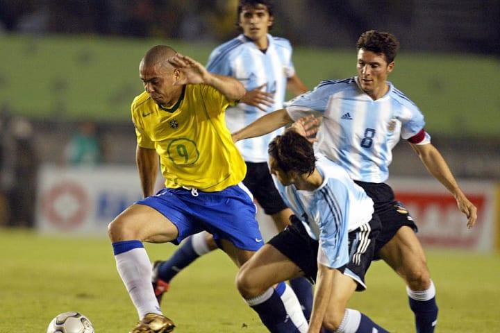 Brasil Argentina Ronaldo Nazário Mineirão Eliminatórias Copa do Mundo