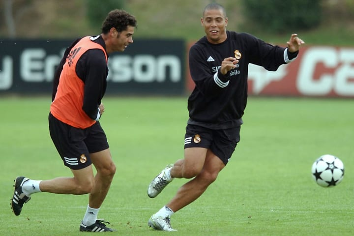 Ronaldo, Fernando Hierro