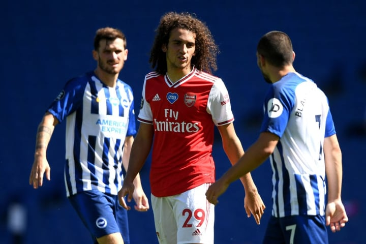 Matteo Guendouzi has been frozen out at Arsenal.