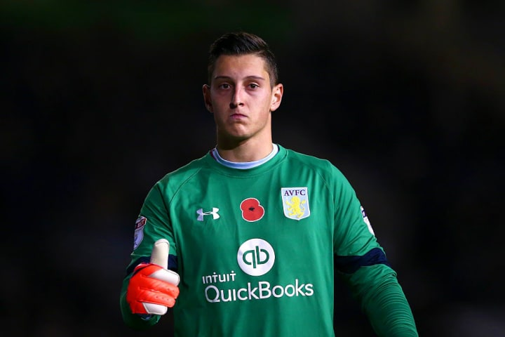 Gollini only played 20 times for Aston Villa