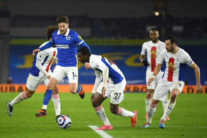 Lallana spurned two of Brighton's biggest chances