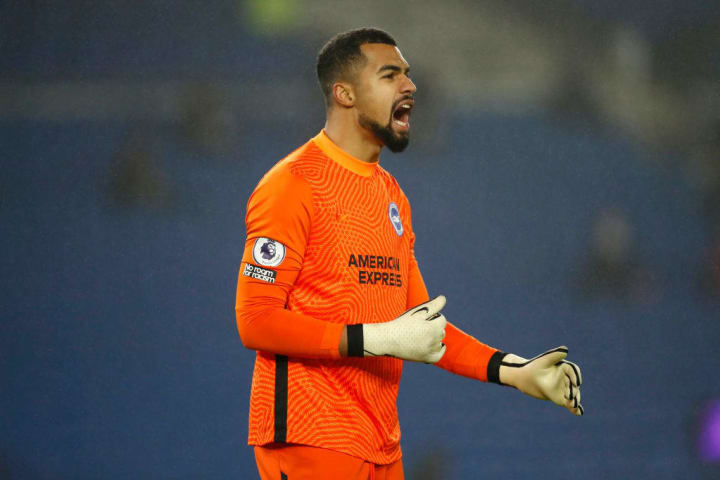 Robert Sanchez has been a revelation since taking over as Brighton number one from Maty Ryan