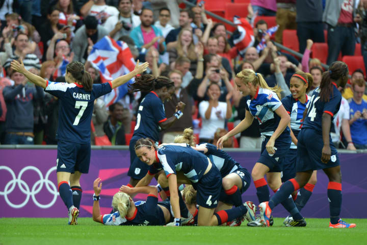 Great Britain last played football at the Olympic Games in 2012