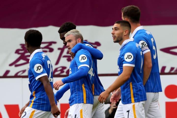 Brighton's third season in the Premier League was their best