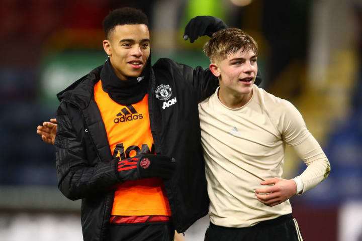 Mason Greenwood, Brandon Williams
