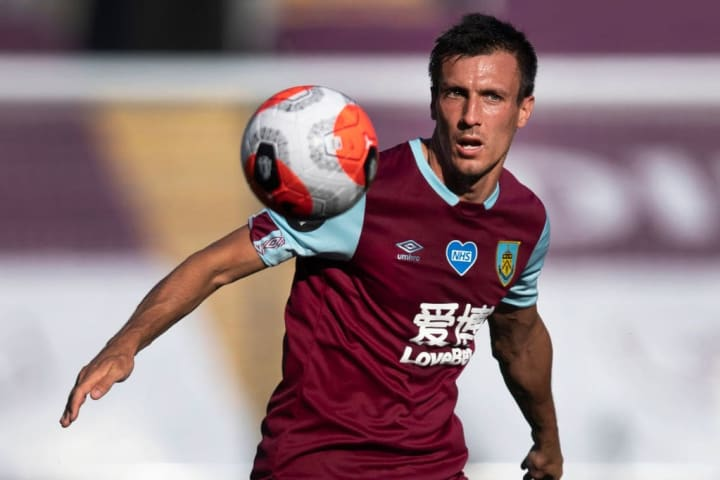 First-choice midfielder Jack Cork will be absent on Wednesday