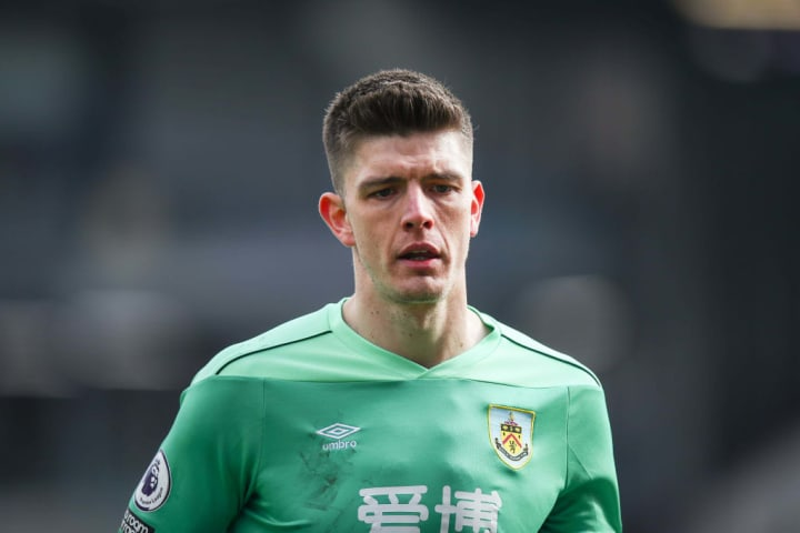 Nick Pope has looked solid yet again for Burnley this season