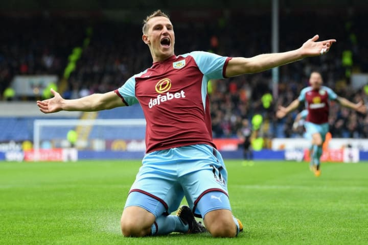 Burnley were rumoured to be willing to listen to bids in the region of £15 million for Chris Wood earlier in the summer