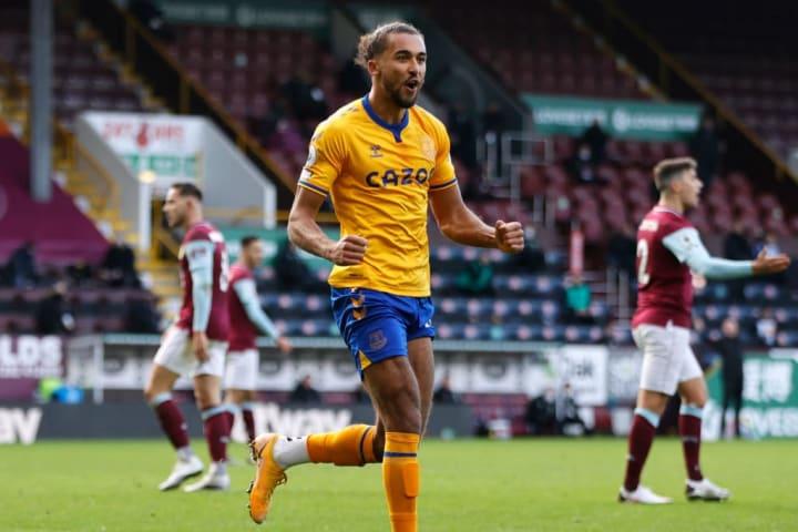 Calvert-Lewin is looking to equal his 13 league goals last season
