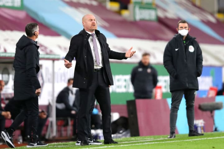 Dyche is not at all happy about Tarkowski leaving