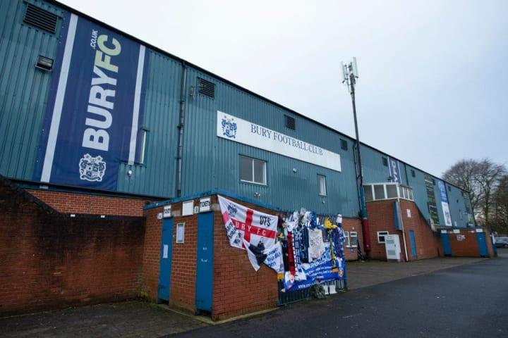 Bury FC - Gigg Lane