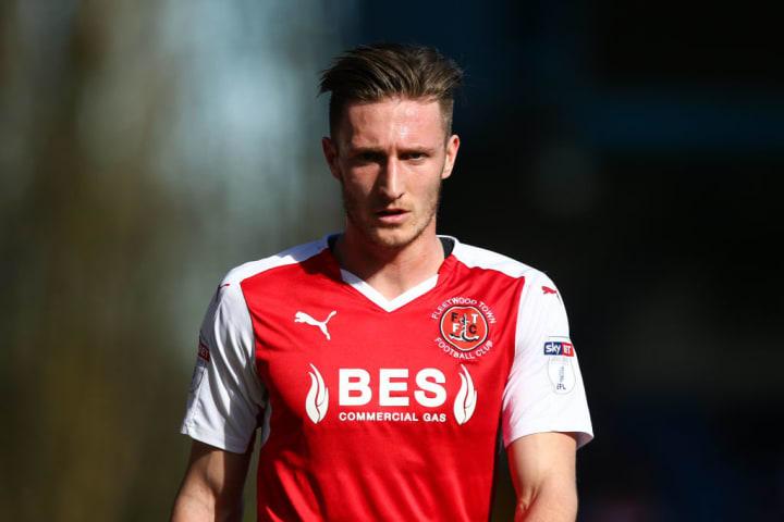 Davies went on loan to Fleetwood