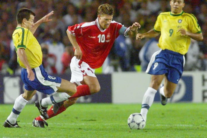 Laudrup made over 100 appearances for Denmark