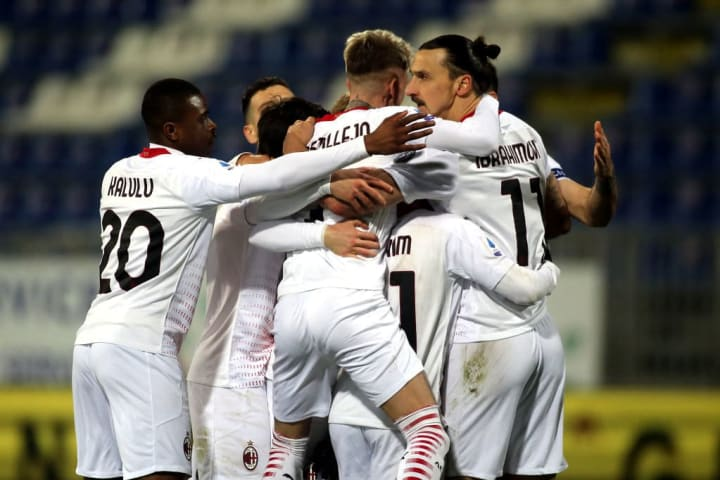 AC Milan have built a strong mostly young squad