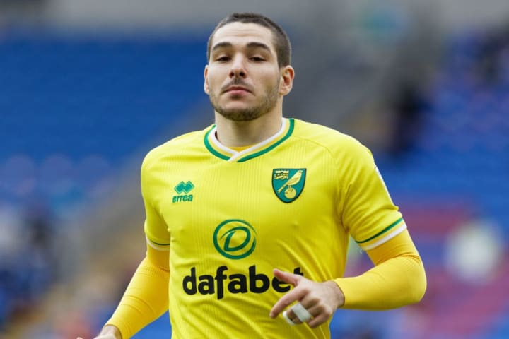 Arsenal were previously linked with Norwich's Emi Buendia