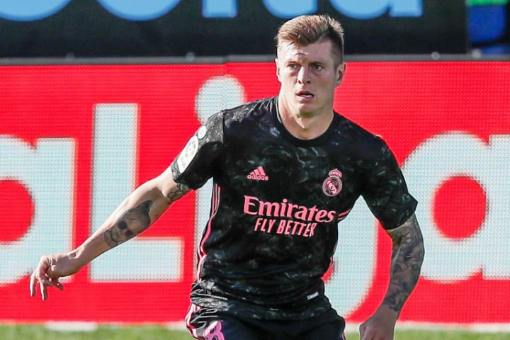 Toni Kroos has also been pictured training with Real Madrid squad