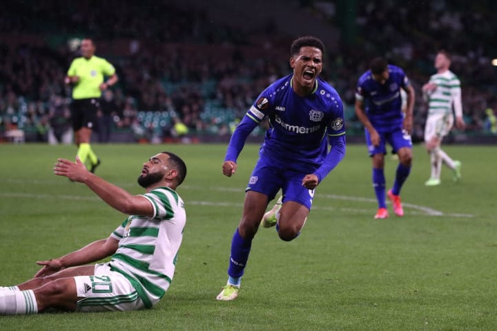 Amine Adli, Bayer 04 Leverkusen, Europa League, Celtic Glasgow