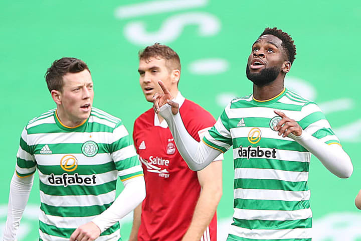 Odsonne Edouard netted the winner for Celtic after eight minutes