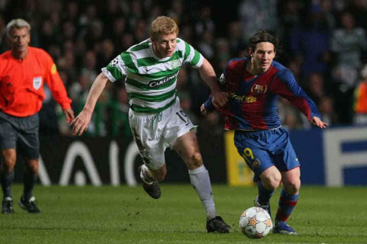 Lionel Messi, Barry Robson