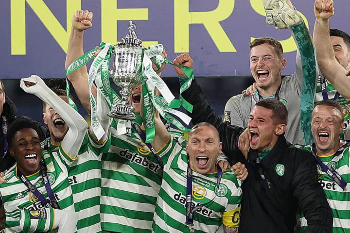 Celtic won the treble