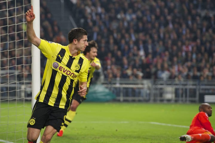 Liga Champions - Ajax Amsterdam v Borussia Dortmund