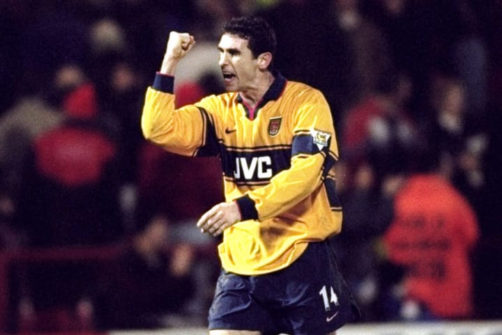 Charlton v Arsenal Martin Keown