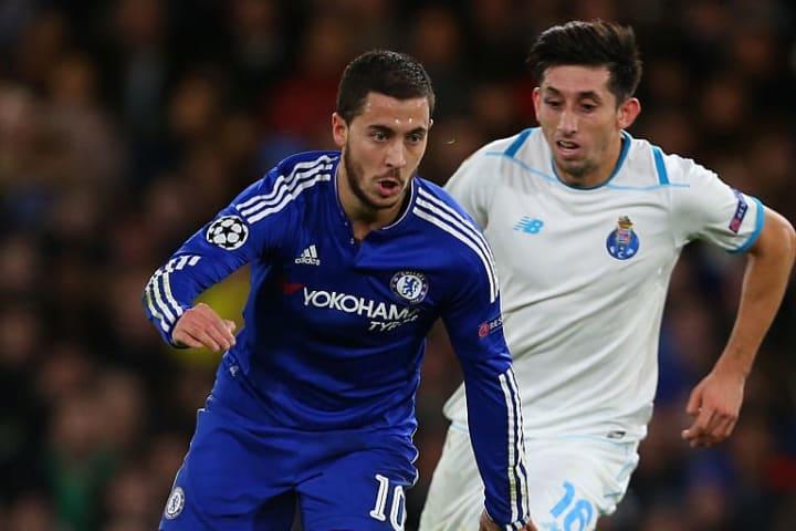 Eden Hazard's Chelsea secured a comfortable 2-0 win in December 2015